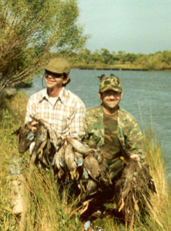 Joe and Dick - A Great Hunt back in the late 80's